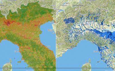 Consumo del suolo VS Pericolo alluvioni