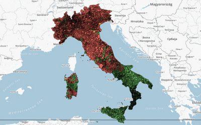 La mappa degli Aiuti di Stato regionali