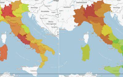 Reddito vs Riscossione nelle Regioni