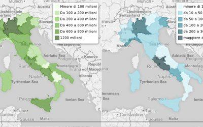 Regioni: gettito da cannabis legalizzata vs spesa in ricerca e innovazione