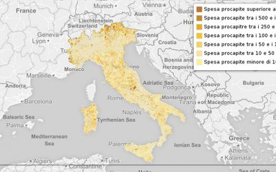 Le spese dei comuni italiani per gli immobili