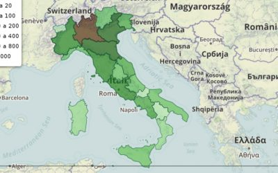 Patent Box – Istanze 2015 nelle regioni italiane