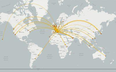 La mappa dei sardi nel mondo