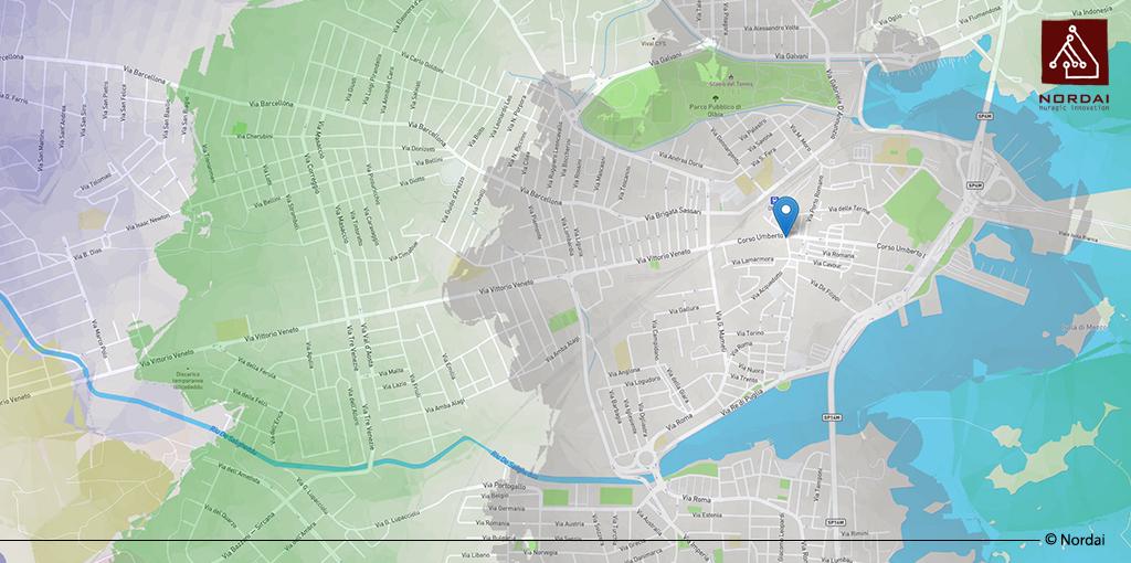 Percorsi, orari e mappe temporali sui trasporti pubblici sardi
